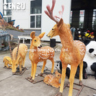 3D Animal Model With Moverments Animatronic Deer