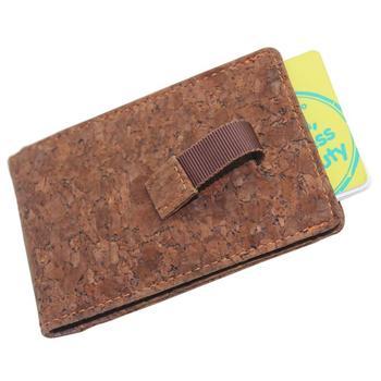 Boshiho new design business card holder cork fabric wallet for men boshiho new design business card holder cork fabric wallet for men colourmoves