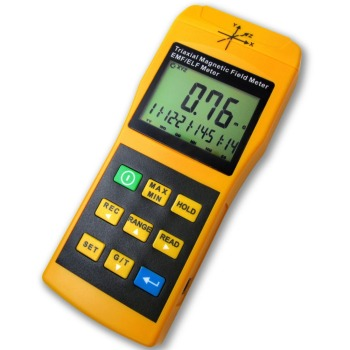 Tri-Axis Sensor Digital 2000mG Gaussmeter EMF ELF Electro Magnetic Field Gauss Meter Taiwan Made
