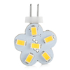 6SMD White G4 5630 Car LED Light Bulb Halogen Replacement AC/DC PA