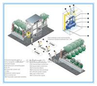 Shenzhen Security Road Blocker Hydraulic Retractable Bollards ...