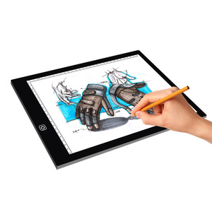 hot sell A4 smart led digital tracing light board drawing copy board for kids designer