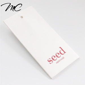 luxury hang tag clothing paper envelope hangtag shoes hang tag