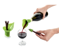 Wine bottle opener silicone wine bottle stopper for parties