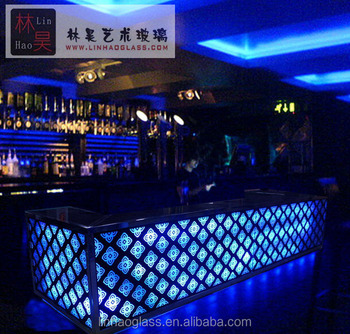 commercial bar counters design, glass bar counter for sale, View ...