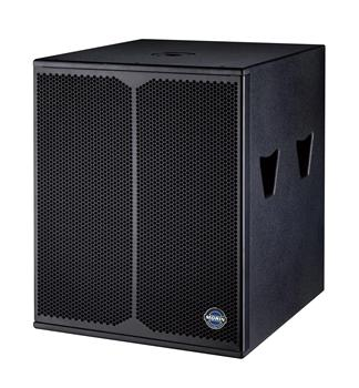 Dual 18 inch Super bass subwoofer speaker box with 1600W for Outdoor show and performance Morin CC-218