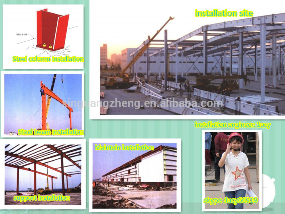 High Quality Prefab Steel Structure Workshop Design
