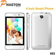 Hot sale in Japanese mobile phone low price cell phone 4inch dual sim card cell phone 003