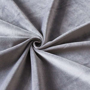 dubai high quality fabric heather grey velour fabric for covering sofa cushions