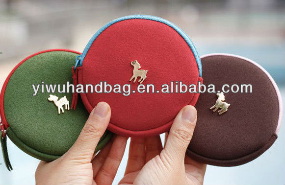 The happy new year series coin purses