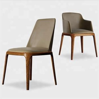 Estilo Diseño silla Tapizado Comedor Nórdico Madera Comedor De Cuero Silla Buy silla Madera Moderno nwO0Pk8