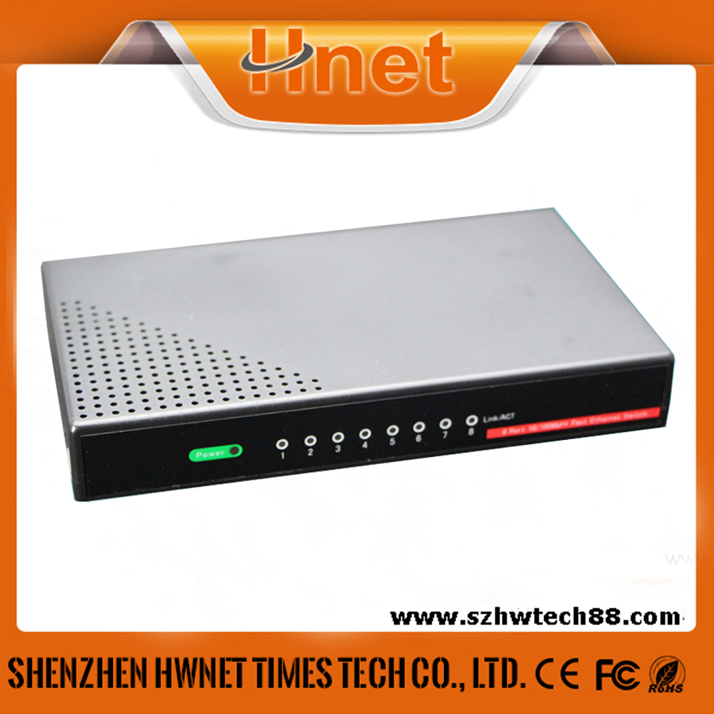 8 port ethernet switch 10/100Mbps switng network module