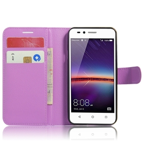 Top Sale Pu Leather Case For Huawei Lua L21 Y3 Ii