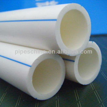 Plastic building material ppr water pipe with fitting for Water pipe material