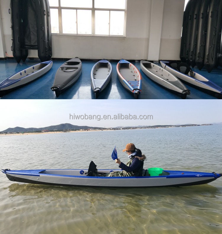 2 Persons Drop Stitch Folding Kayak Inflatable Kayak