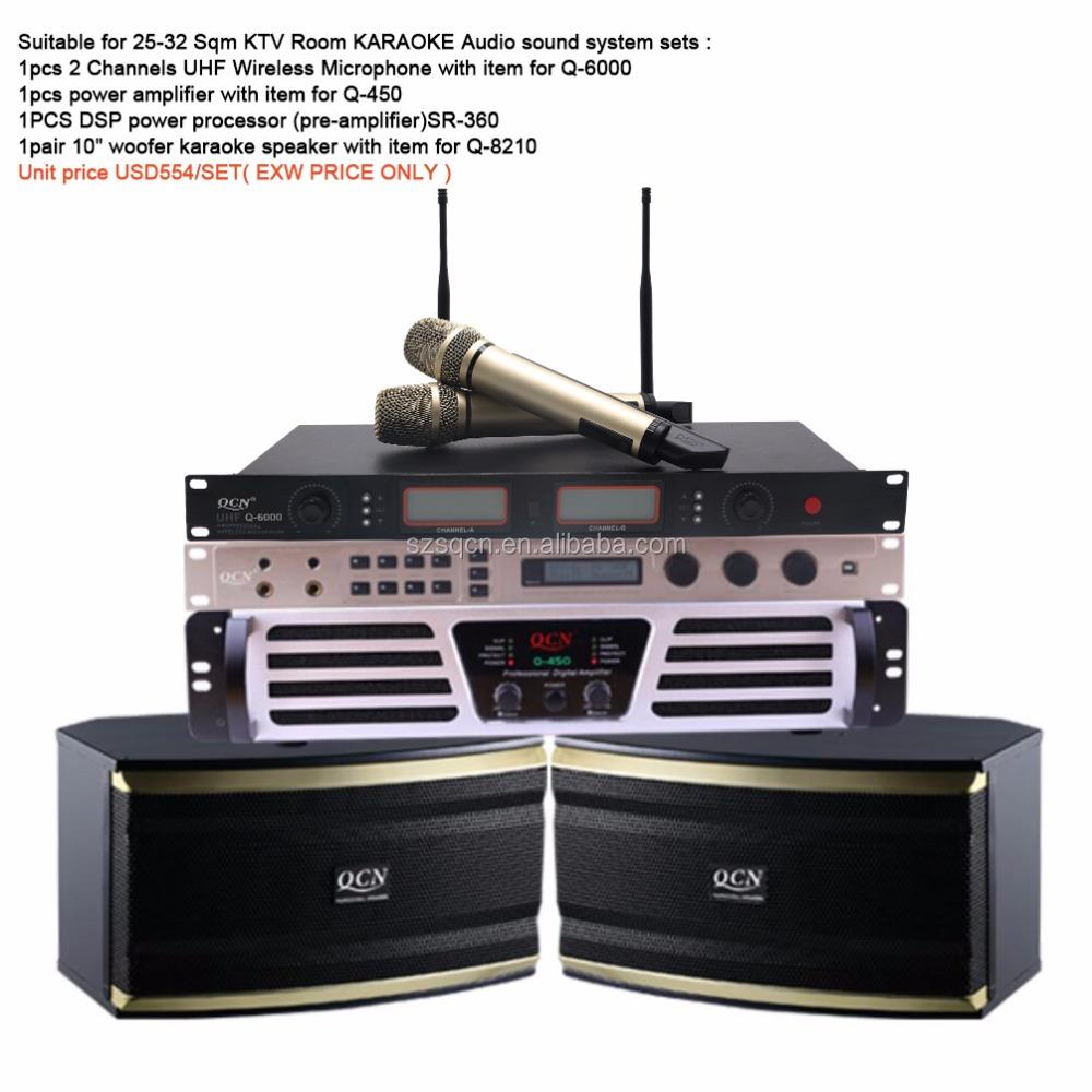 Ktv Karaok Sets Suppliers And Manufacturers At 1 Set Sound System