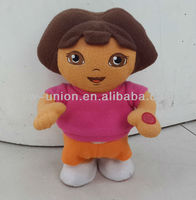 Electric Music Cartoon Walking Dora