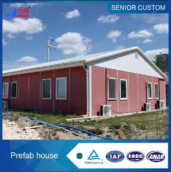 Temporary modular house for workers' accomadation