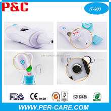 avoid earcap convinnient baby ear digital thermometer with probe cover free and good cleaning