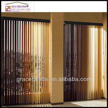 Aluminium Headrail 89mm Slat 89mm Wood Vertical Blinds Buy Wood Vertical Blindswindow Vertical Blindswood Vertical Blinds Product On Alibabacom