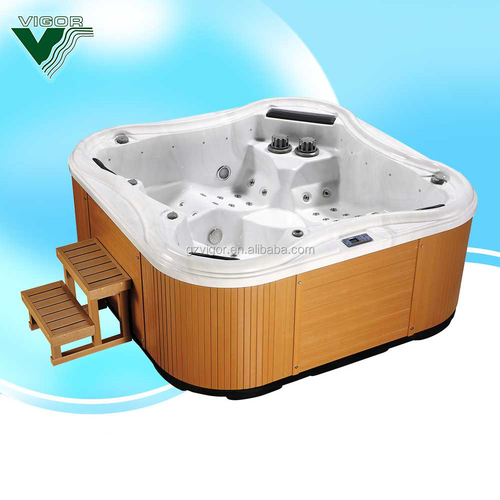 JY8012 classic acrylic hydro spa hot tub