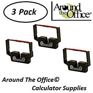ROYAL Model 1205 Compatible CAlculator RC-601 Black & Red Ribbon Cartridge by Around The Office