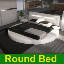 aktion runde betten leder modern, einkauf runde betten leder ... - Lederbett Modern Schlafzimmer