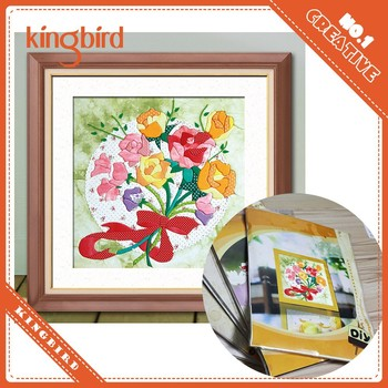 Creative Flower Diy Craft Handmade Photo Collage Frame Buy