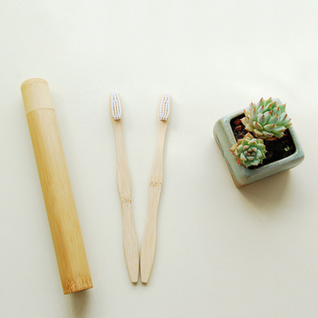 Travel Environmental Charcoal Population Denture Tooth Brush Zero Waste Bamboo Toothbrush