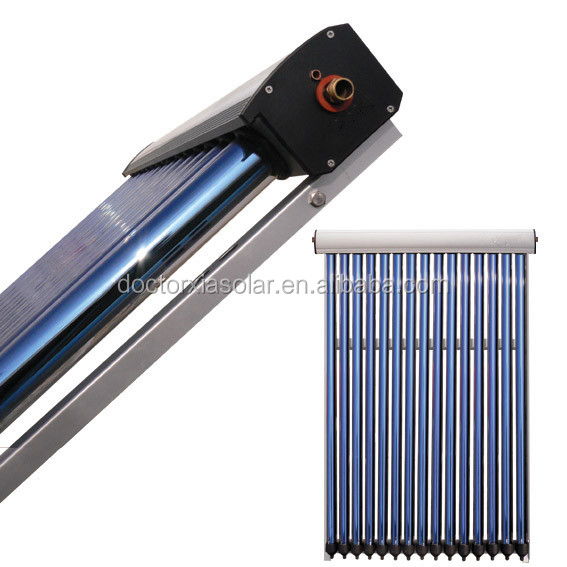 Heat pipe solar thermal colectors for the Czech republic