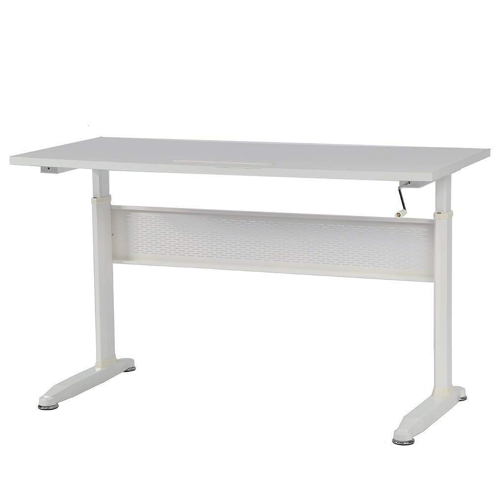 """BMS Standing Desk Adjustable Height Desk Stand up Desk Sit Stand Desk for Laptop and Monitor,55"""""""