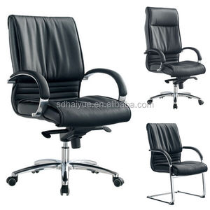 WorkWell Visitor office chair leather, leather office, leather executive chair