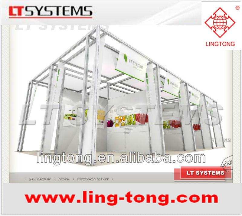 Customized Acrylic Booths for Exhibition Group