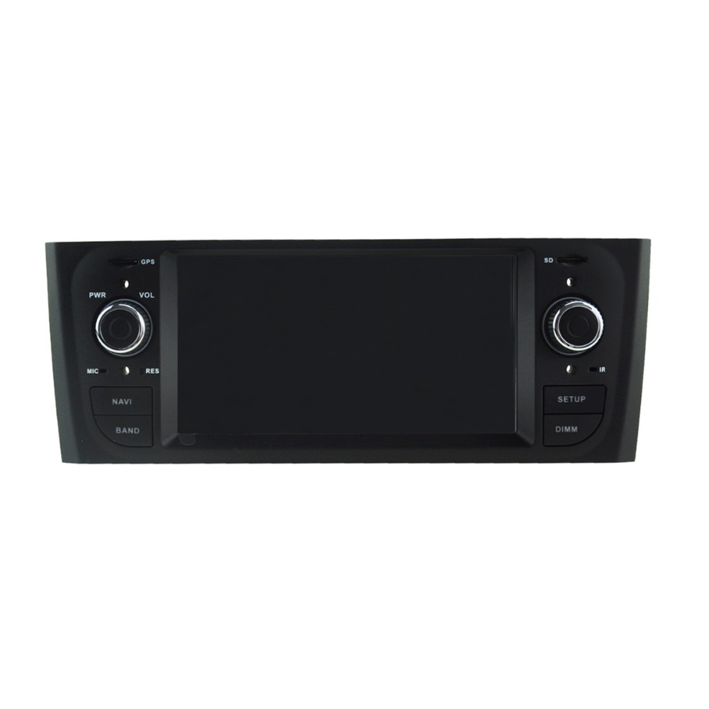 Quad Core 1024*600 Android 5.1.1 car dvd radio GPS navigation stereo for Fiat Punto/Linea hot selling