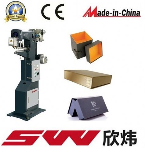 Hot selling rigid box corner pasting machine