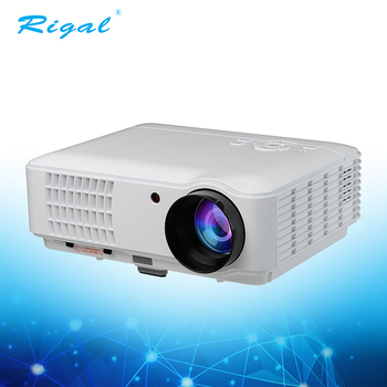3D HD 1080P with high lumen LED mini projector for home & education & business