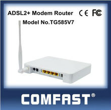 54Mbps Wireless/Wired 4 LAN ports ADSL2+ Wireless Modem Router COMFAST TG585V7