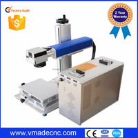 popular!30w mini 3D fiber laser marking machine/zippo lighter engraving machine