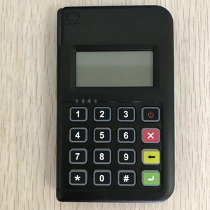 MPOS PCI approved chip and PIN device communicate via smart mobile phone