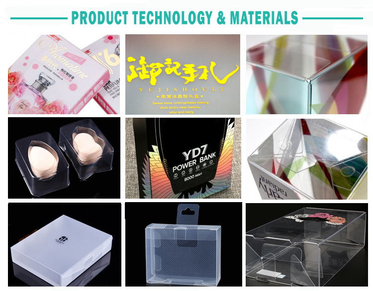 New Arrival Makeup Cosmetic Clear Plastic Packaging Box ,Printing & Packaging Customized Design Luxury PVC Cosmetic Box