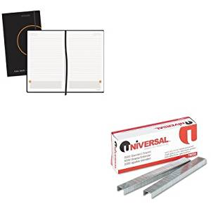 KITAAG80612405UNV79000 - Value Kit - At-a-Glance Perfect Bound Planning Notebook (AAG80612405) and Universal Standard Chisel Point 210 Strip Count Staples (UNV79000)