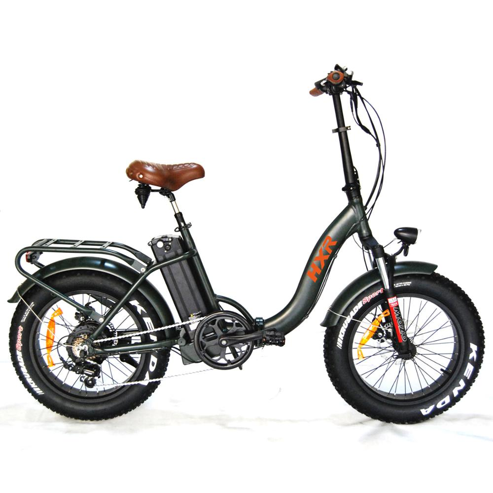 20 inch 500W folding fat tire electric bike for sale