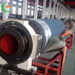 En9 Shaft Shrink Fitted Blind Drilled Smoothing Press Roll For Paper Machine