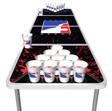 Direct factory customs design folding beer pong table