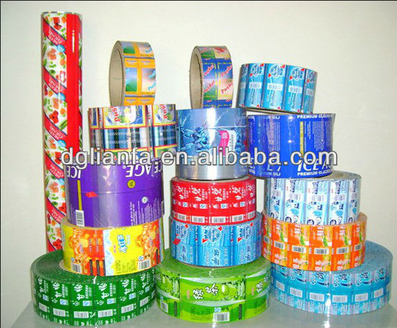 Plastic Beker Afdichting Roll Film Voor Pp Cup Bubble Tea Cup