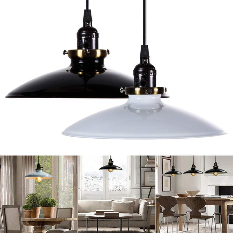 New Home Light Pendant Lights Fixture Ceiling Lamp Retro Industrial Iron Vintage Chandelier Home Decor free shipping