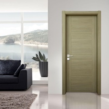 bathroom mdf pvc solid core door