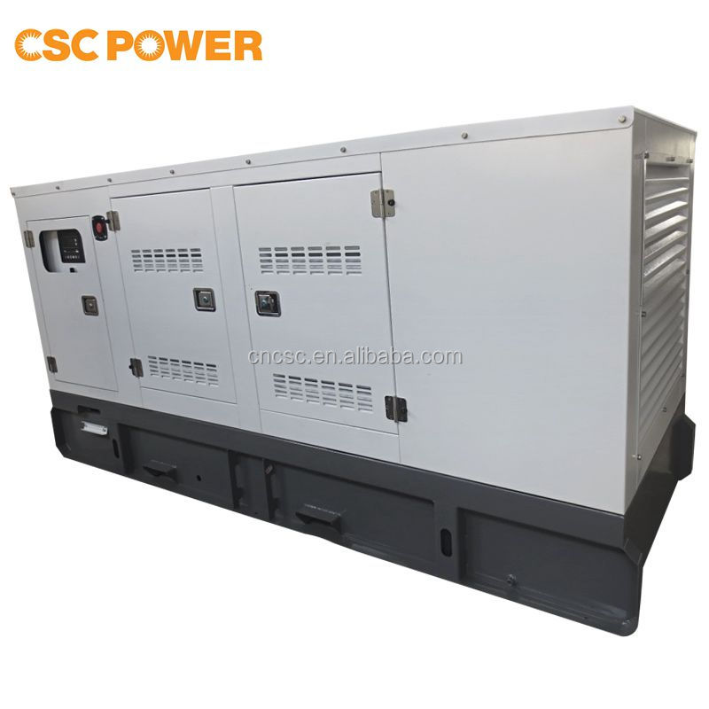 100% Secure Payment !! CSCPower with cummins engine 160kva Silent Diesel Generator with CE, ISO