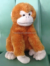 Stuffed monkey toys 11""