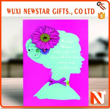 Most welcomed womens day handmade greeting card buy womens day most welcomed womens day handmade greeting card m4hsunfo